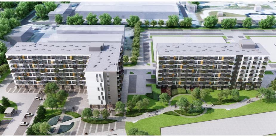 Lokum Smart City - kawalerki i małe apartamenty