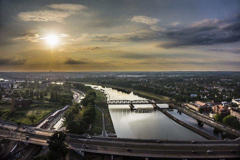 wrocław - panorama miasta