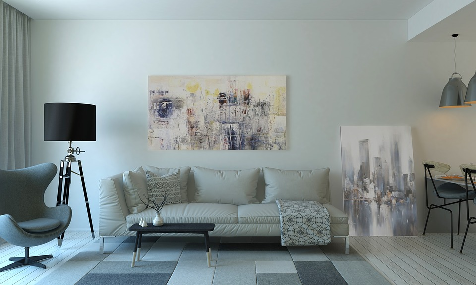 kanapa w mieszkaniu - aranżacja